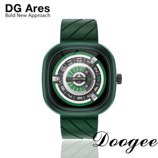 Đồng hồ thông minh DOOGEE DG Ares Pin 300mAh 1.32 inch Cấp độ Retina Màn hình tròn Phong cách thiết kế theo phong cách Punk Đồng hồ dành cho điện thoại Android IOS thumbnail