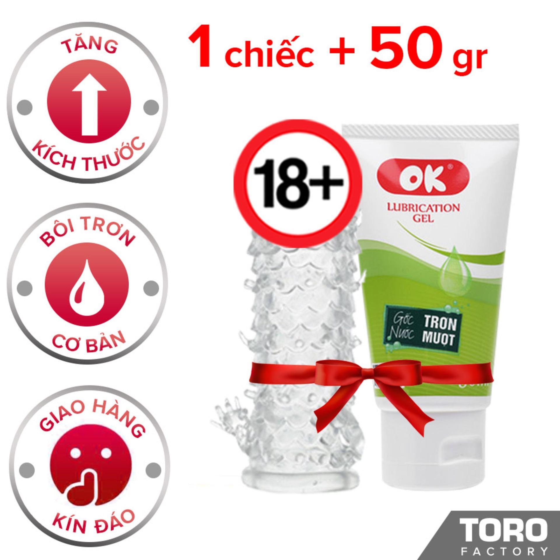 Combo Bao Cao Su Đôn Dên Kiểu Baile  + 1 gel bôi trơn OK - Toroshop