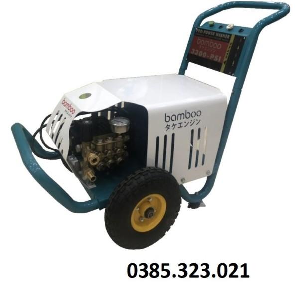 Máy Rửa Xe Cao Áp 3.5kw Bamboo 3300PSI (Piston Sứ)
