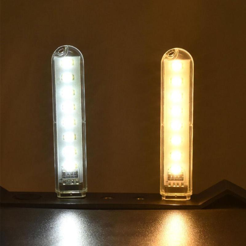Bảng giá Đèn thẻ bỏ túi Mini USB 8 LED Light Máy tính xách tay cắm trại điện thoại di động mới Phong Vũ