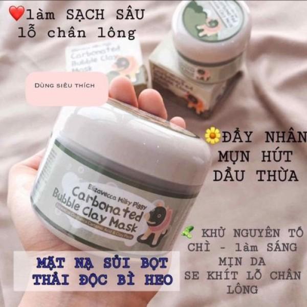 [ MIỄN PHÍ VẬN CHUYỂN ] Mặt nạ dưỡng da sủi bọt bì heo Carbonated Bubble Clay Mask thải độc khử chì (100gram)
