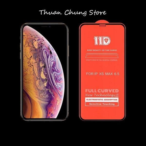 Kính cường lực 11D full màn hình Iphone 6,6s,7,8,x,6p,6sp,7p,8p,X trắng ( vui lòng chọn đúng dòng điện thoại + màu trong mục Lựa Chọn)