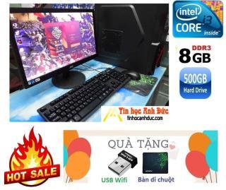 [HCM][Trả góp 0%]Bộ máy tính ADF2L19 I3 Ram 8G SSD 60G HDD 500G chơi PUBG fifa GTA thumbnail