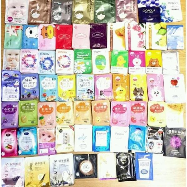 MIX nhiều loại mặt nạ Bioaqua, One Sping, Images, Rorec mask nội địa Trung CAO CẤP