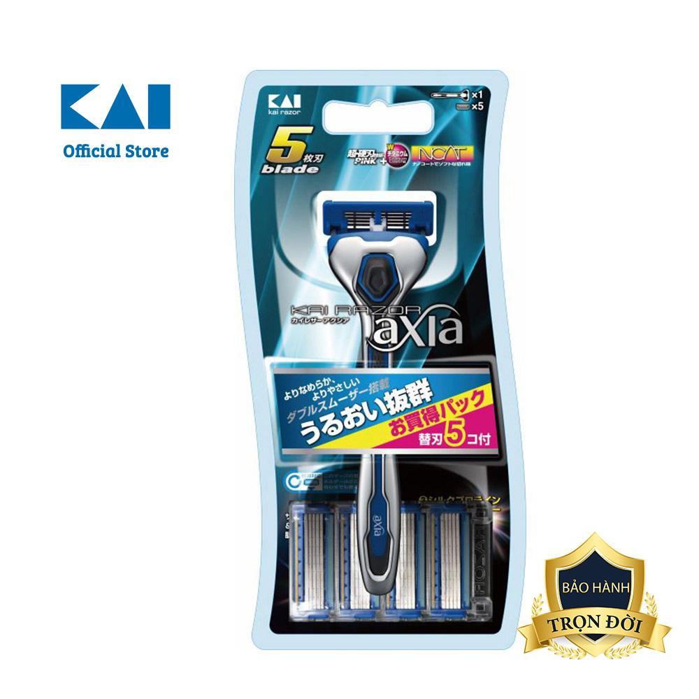 Dao cạo râu cao cấp Nhật axia+4 đầu thay giá rẻ