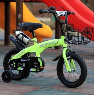 Xe đạp thể thao trẻ em 14-16inch - xe đạp trẻ em đa năng có bánh phụ thumbnail