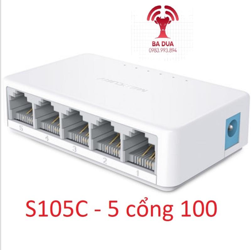 Bảng giá Bộ Chia Mạng Switch Mercury 5 cổng , 8 cổng port Gigabit S105C , S108C , SG105C , SG108C Phong Vũ