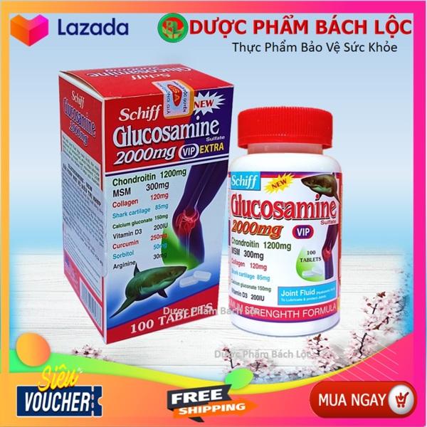 Viên Uống Bổ Xương Khớp Glucosamine 2000mg Vip Extra - Nhập Khẩu Mỹ - Hộp 100 Viên