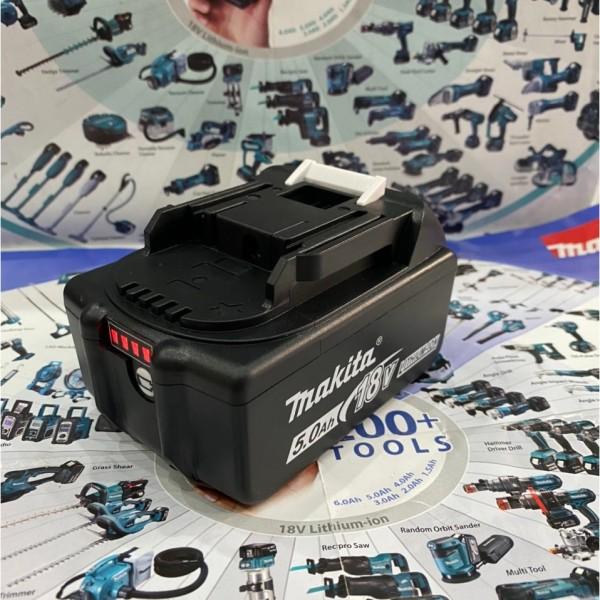 Pin Makita 18V 5S-2P Sạc Adapter Có Báo Pin , Phân Loại 4Ah, 5Ah, 6Ah Tùy Chọn.