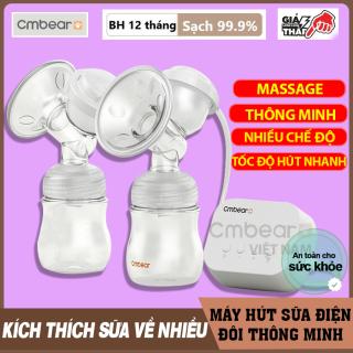 Máy hút sữa CMBEAR cao cấp - Máy hút sữa cầm tay thông minh cho mẹ - Máy hút sữa mẹ tiện lợi, an toàn - CMB02 thumbnail