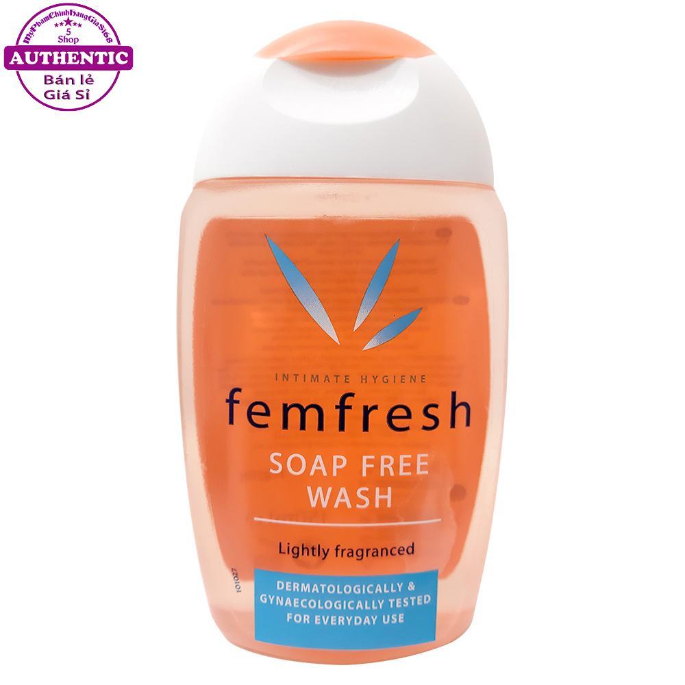 DUNG DỊCH VỆ SINH PHỤ NỮ FEMFRESH SOAP FREE WASH