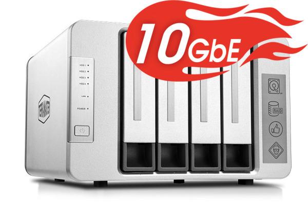 Bảng giá NAS TerraMaster F5-422, 10Gbps, Intel Quad-Core 1.5GHz, 4GB/6GB/8GB RAM, 670MB/s, 5 khay ổ cứng RAID 0,1,5,6,10,JBOD Phong Vũ
