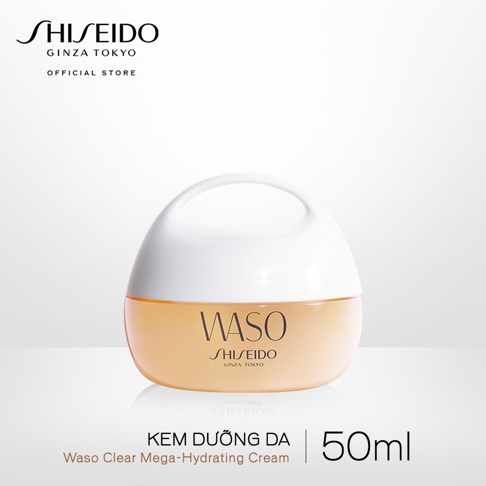 Kem dưỡng da Shiseido WASO Clear Mega-Hydrating Cream 50ml