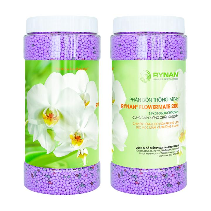 PHÂN BÓN NPK 31 - 08 - 08 (HỘP 1.36kg) - PHÂN BÓN THÔNG MINH Rynan Flowermate 200
