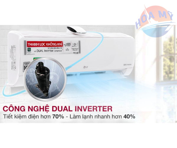 Máy lạnh LG WIFI Inverter 1HP V10APF