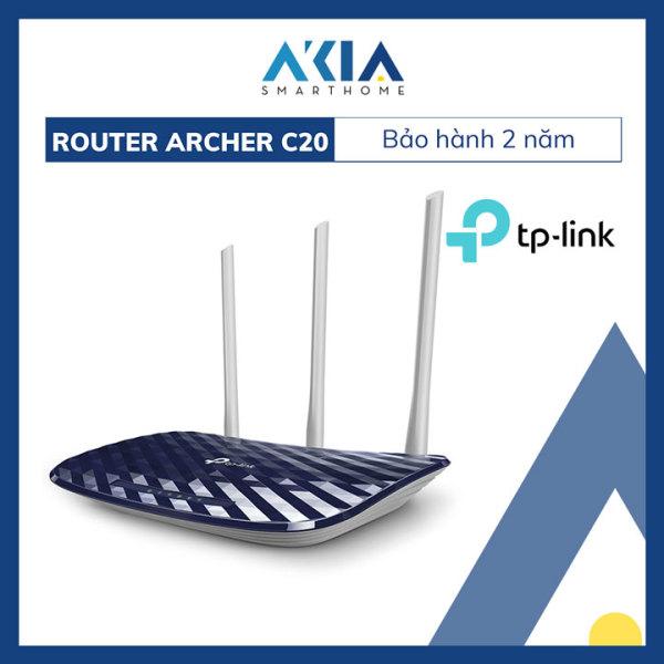 Bảng giá Bộ Phát Wifi Băng Tần Kép AC750 TP-Link Archer C20 - Hàng Chính Hãng Phong Vũ