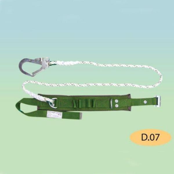 Dây đai an toàn nịt bụng có đệm lưng 1 móc lớn dây tơ D07