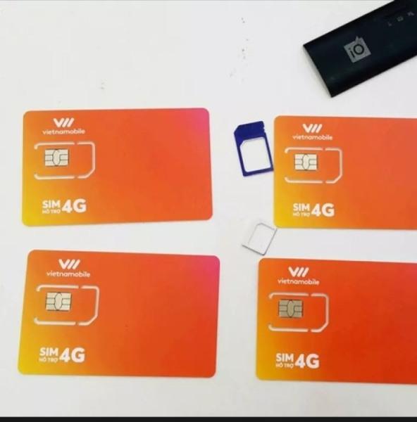 Bảng giá Sim data 4g vietnamobile vào mạng 1 năm giá rẻ 120gb/tháng duy trì chỉ với 20k sim giá rẻ Phong Vũ