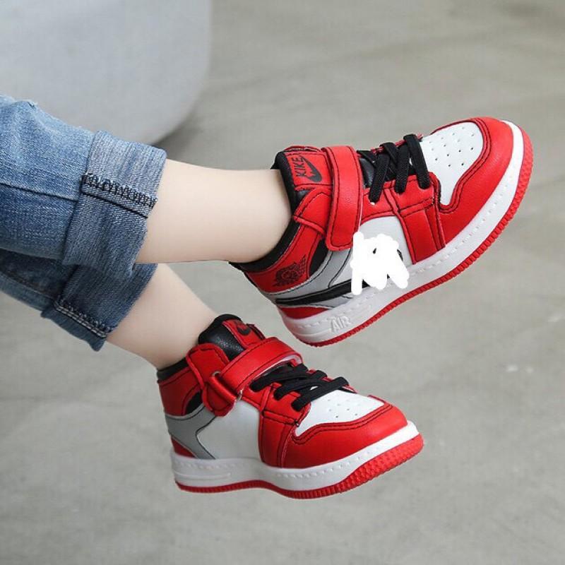 Giá bán giày cổ cao cho bé trai và bé gái Quảng châu fullbox C1C2