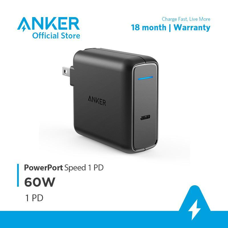 Sạc ANKER PowerPort Speed 1 USB-C Power Delivery 60W - A2015