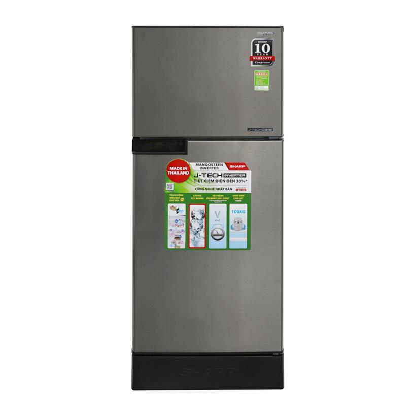 Tủ Lạnh Sharp SJ-X176E-SL/DSS/CS 165L, Inverter - Free Giao Lắp Đang Hạ Giá tại Lazada