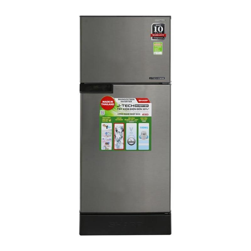 Tủ lạnh Sharp SJ-X176E-SL/DSS/CS 165L, Inverter - Free giao lắp