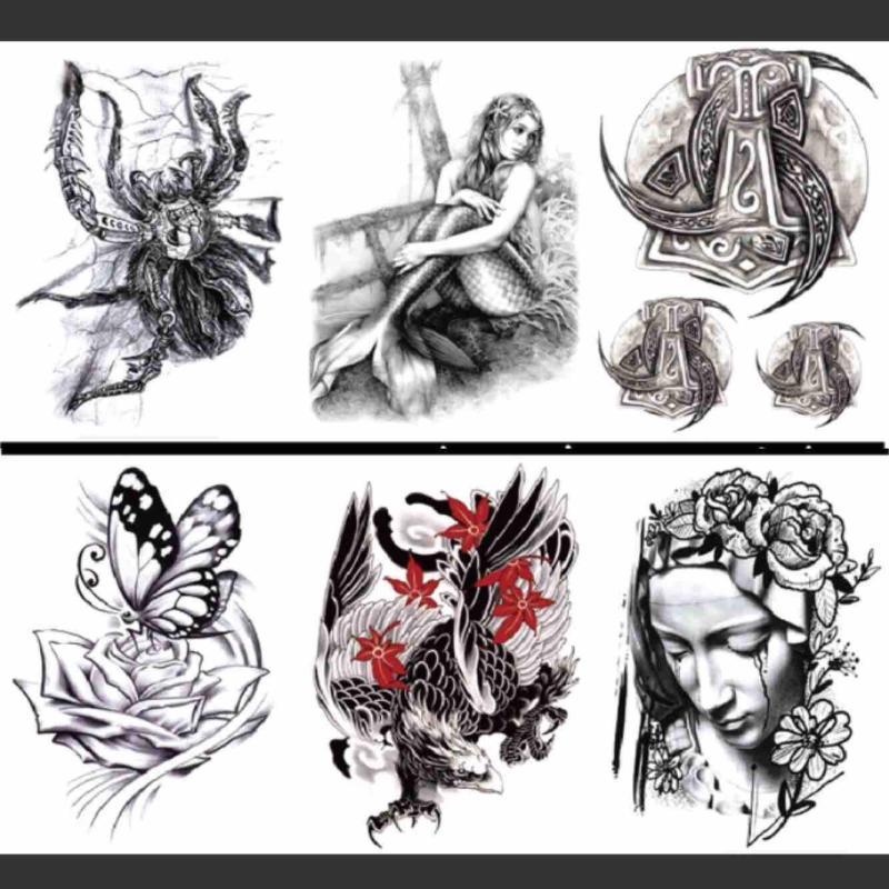 Hình xăm dán Tattoo 5 ngày cao cấp