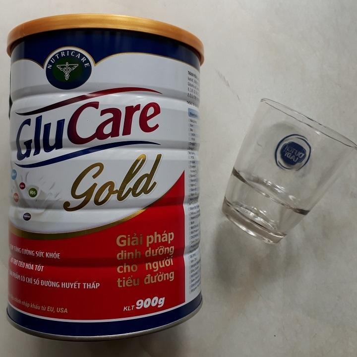 Sữa bột Glucare Gold 900g- (Dinh dưỡng cho người tiểu đường) tặng ly thủy tinh cao cấp(ms01) nhập khẩu