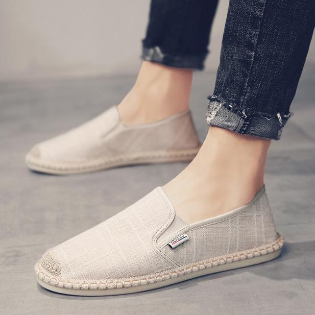 Giày Lười Vải Thời Trang Nam Cao Cấp ZAPPOS GLV01 giá rẻ
