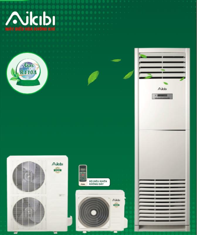 MÁY LẠNH AIKIBI 5.5 HP LOẠI TỦ ĐỨNG MF - GAS R410a