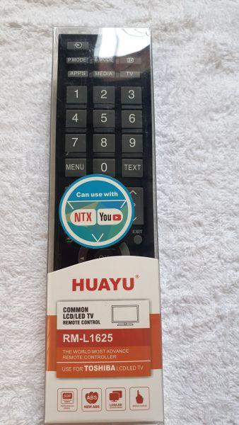 Bảng giá REMOTE ĐIỀU KHIỂN TIVI TOSHIBA ĐA NĂNG HUAYU L1625