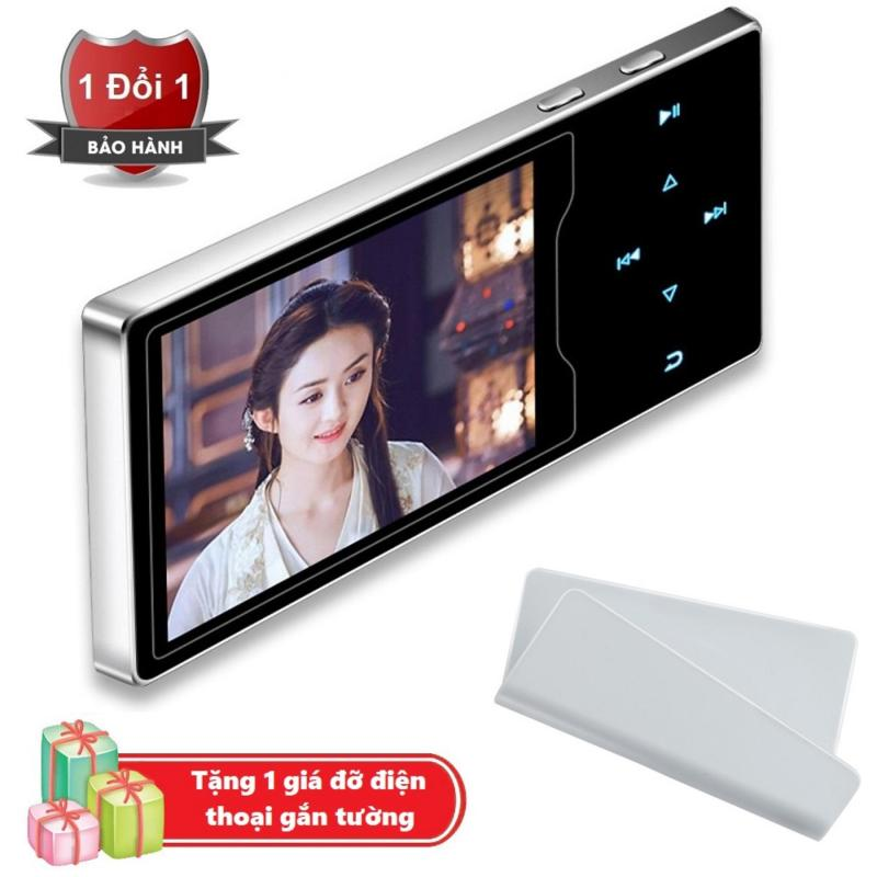 Máy nghe nhạc Ruizu D08 cao cấp màn hình HD 2.4 inch Tặng kèm Giá đỡ điện thoại gắn tường