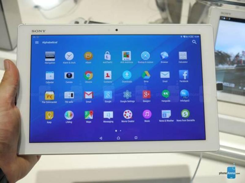 Máy tính bảng Sony Tablet Z2 Bản Wifi Chuẩn Zin 100% Siêu Mỏng - Siêu Đẹp - Siêu Trâu. Tặng Sạc Cáp Nhanh Chính Hãng Sony Và Tai Nghe.