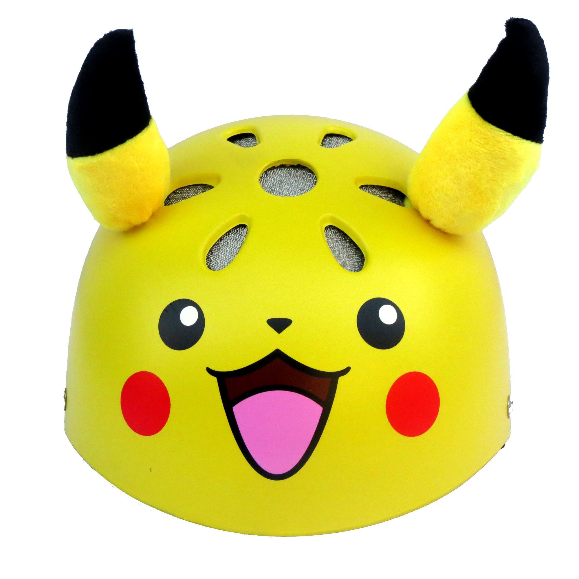 Giá bán Mũ bảo hiểm NTMAX 1/2 trẻ em (4-10 tuổi) Pikachu siêu cute