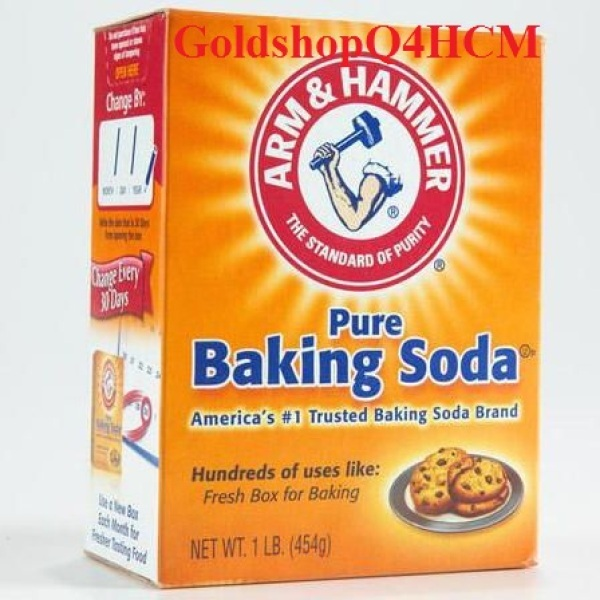 (HCM, HSD 2023) Baking soda Mỹ 454g