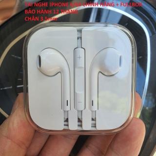 Tai Nghe IPHONE 6S Chính Hãng, FULBOX, Mới 100%, Chân 3.5mm, Bảo Hành 12 Tháng thumbnail