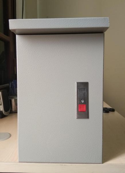 Vỏ tủ điện ngoài trời sơn tĩnh điện bền đẹp 30x40x15