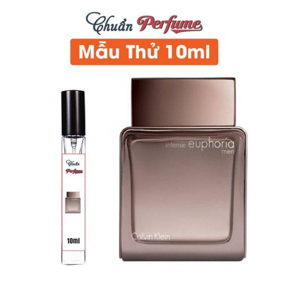 [Mẫu Thử 10ml] Nước Hoa Nam Calvin Klein Euphoria Men Intense EDT Chiết 10ml » Authentic Perfume