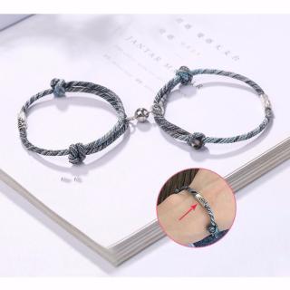 Lắc Tay Lắc Tay Đôi Vòng Tay Đôi Nam Nữ Handmade Trọn Đời Bên Người Tuyệt Đẹp LTD02 - Bảo Ngọc Jewelry thumbnail