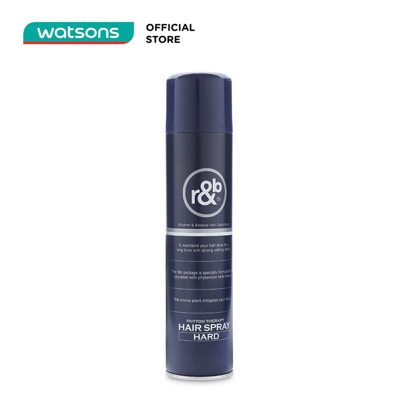 Keo Xịt Tóc R&B Hair Spray Hard 330ml giá rẻ