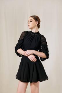 MAVEN - Váy đen tay lỡ Allure thumbnail