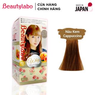 Thuốc nhuộm tóc tạo bọt Beautylabo 125ml Whip Hair Color Nhật Bản - Màu Nâu Cappuccino thumbnail