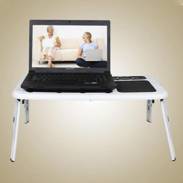 Bảng giá Bàn để laptop có quạt tản nhiệt , bàn để laptop đa năng, bàn để laptop có 4 chân gấp mở tiện dụng, bàn để máy tính Phong Vũ