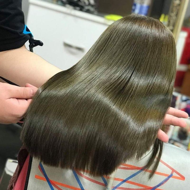 Thuốc nhuộm tóc màu Vàng Rêu Sáng nhập khẩu
