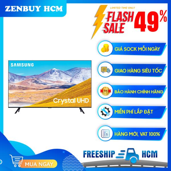 Bảng giá Smart Tivi Samsung 4K 43 inch 43TU8100 (2020) - Công nghệ màu sắc: Công nghệ Crystal Display - Bộ xử lý hình ảnh: bộ xử lý Crystal 4K - Công nghệ HDR