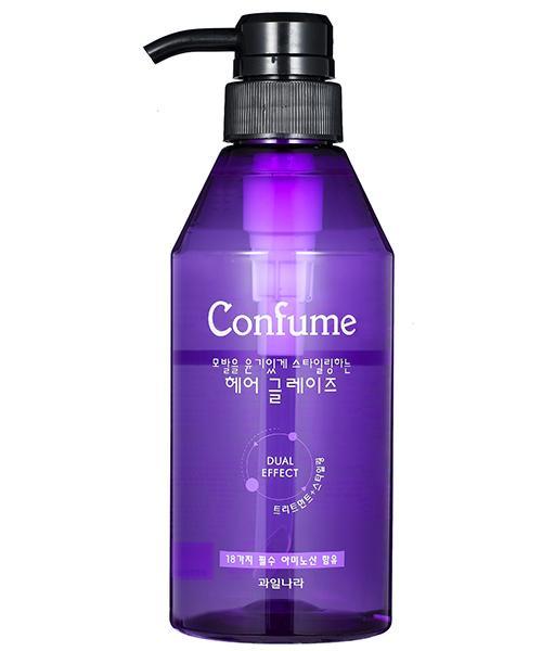 Gel lỏng tạo kiểu tóc mềm (Hàn Quốc) Confume hair glaze 400ml nhập khẩu