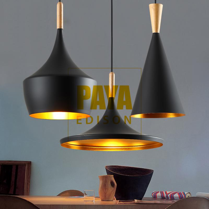 COMBO 3 ĐÈN [A+B+C] Đèn Thả Bàn Ăn BEATLIGHT - ĐUI GỖ - [CM029] Black (Tặng Kèm Bóng LED Chuyên Dụng) Siêu Ưu Đãi tại Lazada