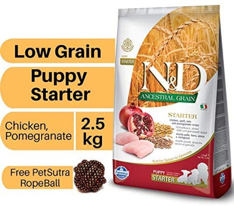 Farmina - N&D ANCESTRAL GRAIN DOG CHICKEN, STARTER PUPPY 2.5KG