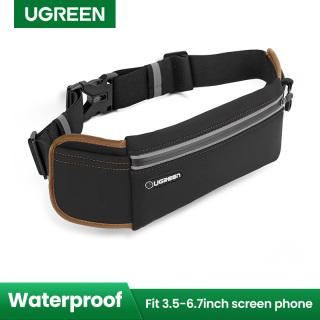 UGREEN Handphone Running Bag for Samsung Xiaomi Redmi iPhone Sports Bag Running Belt Pouch Runners Fanny Pack Waist Bag Black thumbnail