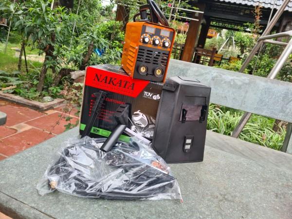 Máy hàn mini chính hãng NAKATA 250a - giá rẻ